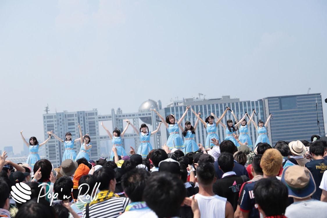 【TIFフォトレポート】虹のコンキスタドール、8/2 SKY STAGE(12:55-)