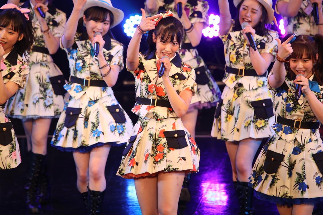【ライブレポート】AKB48チーム8 下尾みう、TIF2019で「蜂の巣ダンス」センター!