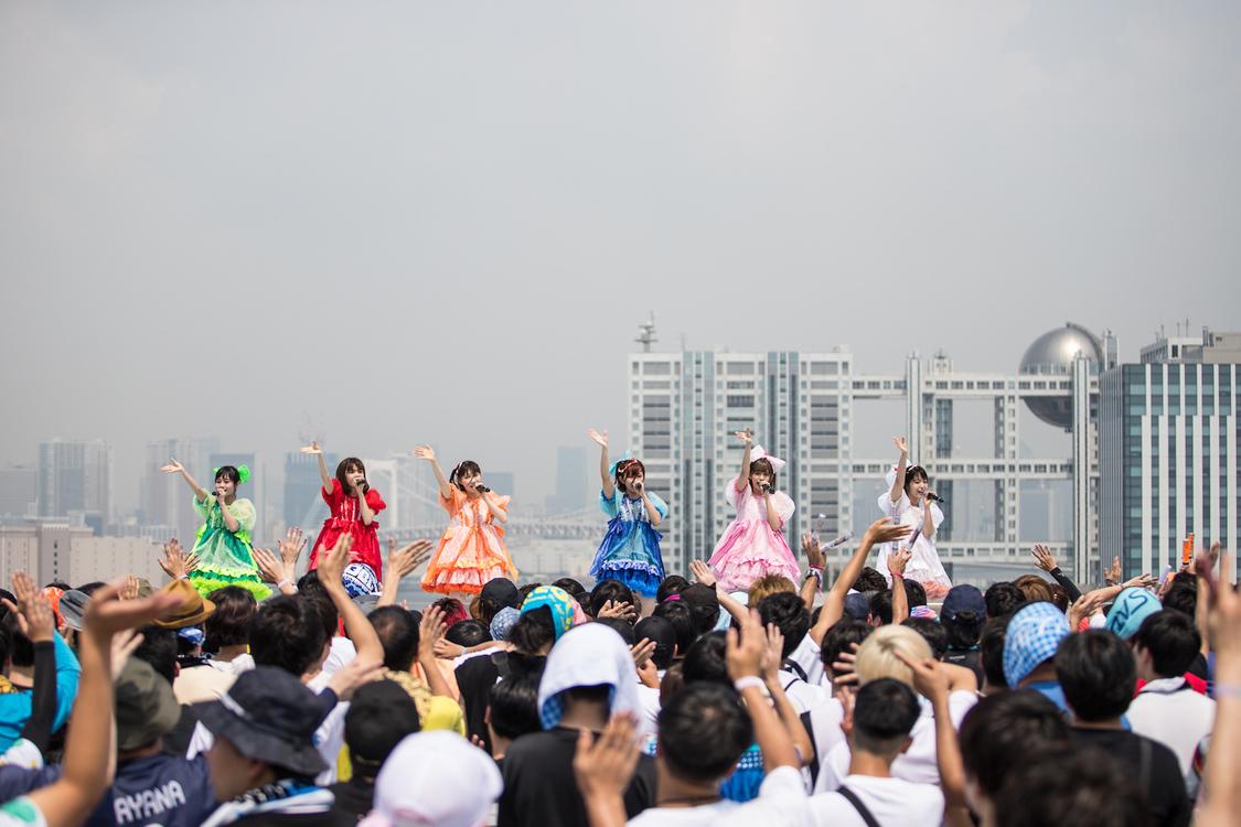 FES☆TIVE、<TIF 2019>全出演ステージで見せつけたライブアクトとしての高き実力