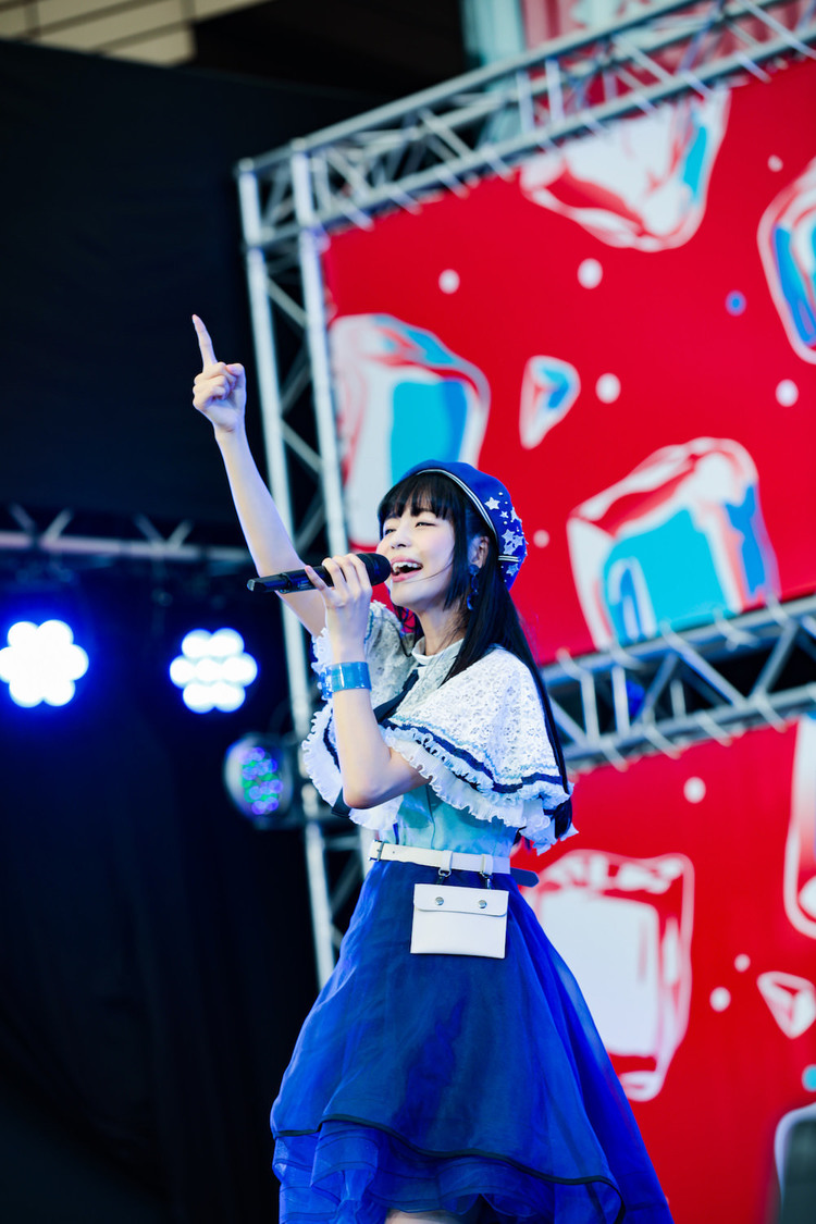 寺嶋由芙[ライブレポート]「この夏も、ゆっふぃーと一緒に楽しい夏にしてください」|六本木アイドルフェスティバル2019