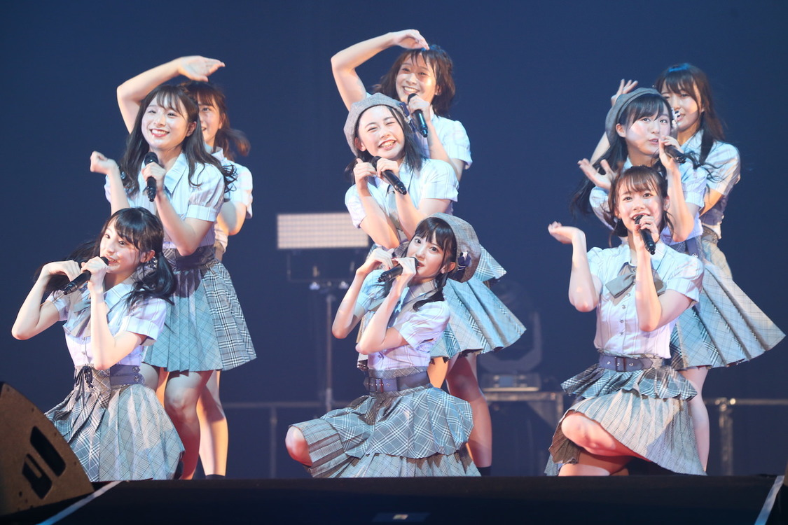 AKB48チーム8[ライブレポート]@JAM EXPO 2019「チーム8の夏はまだまだ終わりません!」