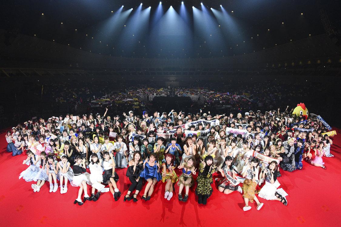 真夏のアイドル大博覧会<@JAM EXPO 2019>、過去最大2日間で25,000人来場!