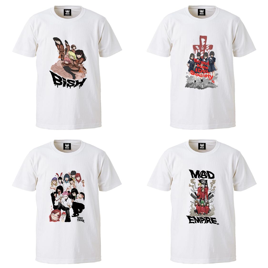 WACK X JUN INAGAWA コラボTシャツ4種が期間限定で受注販売!