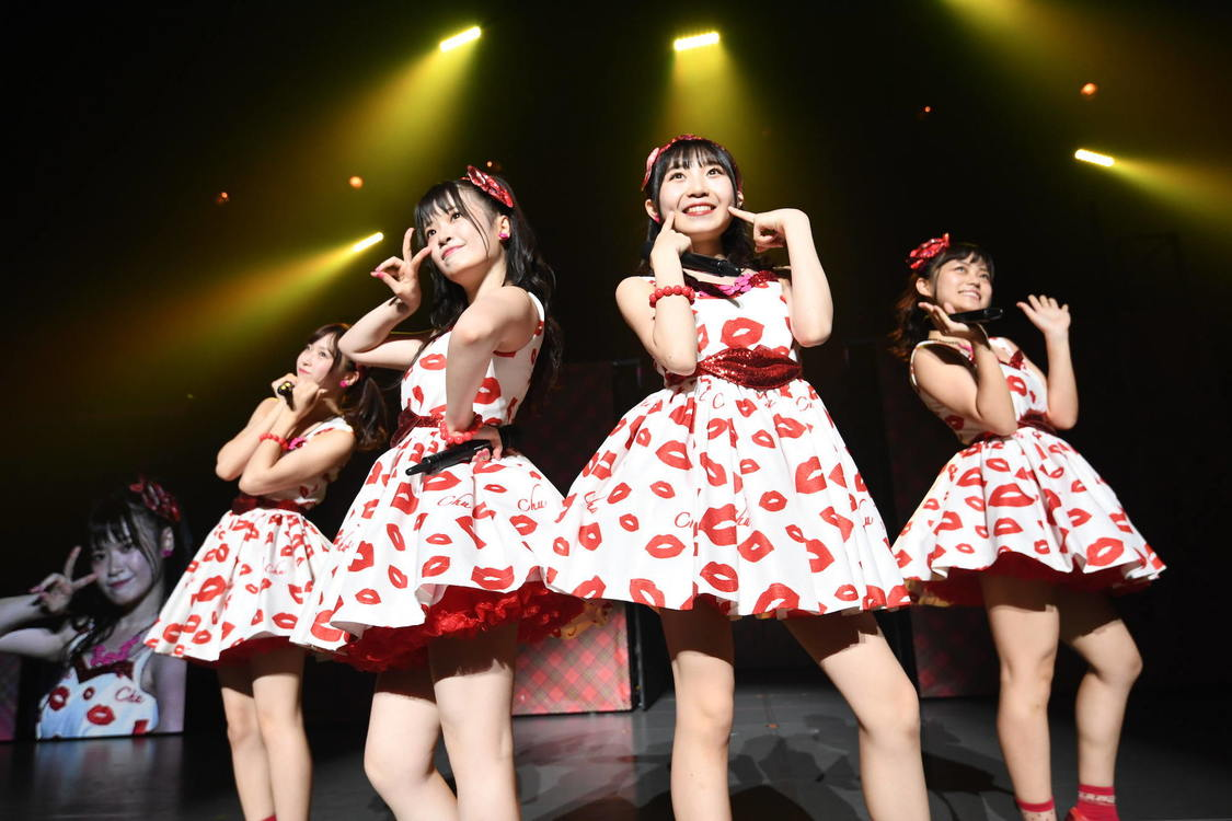 AKB48[ライブレポート]武藤小麟、小林蘭、橋本陽菜、春本ゆき、AKBアイドリング!!!「チューしようぜ!」披露!