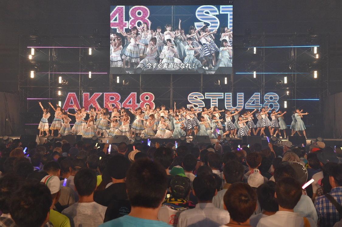 AKB48&STU48[イベントレポート]特別感のあるパフォーマンスで魅せた初の2グループ合同握手会