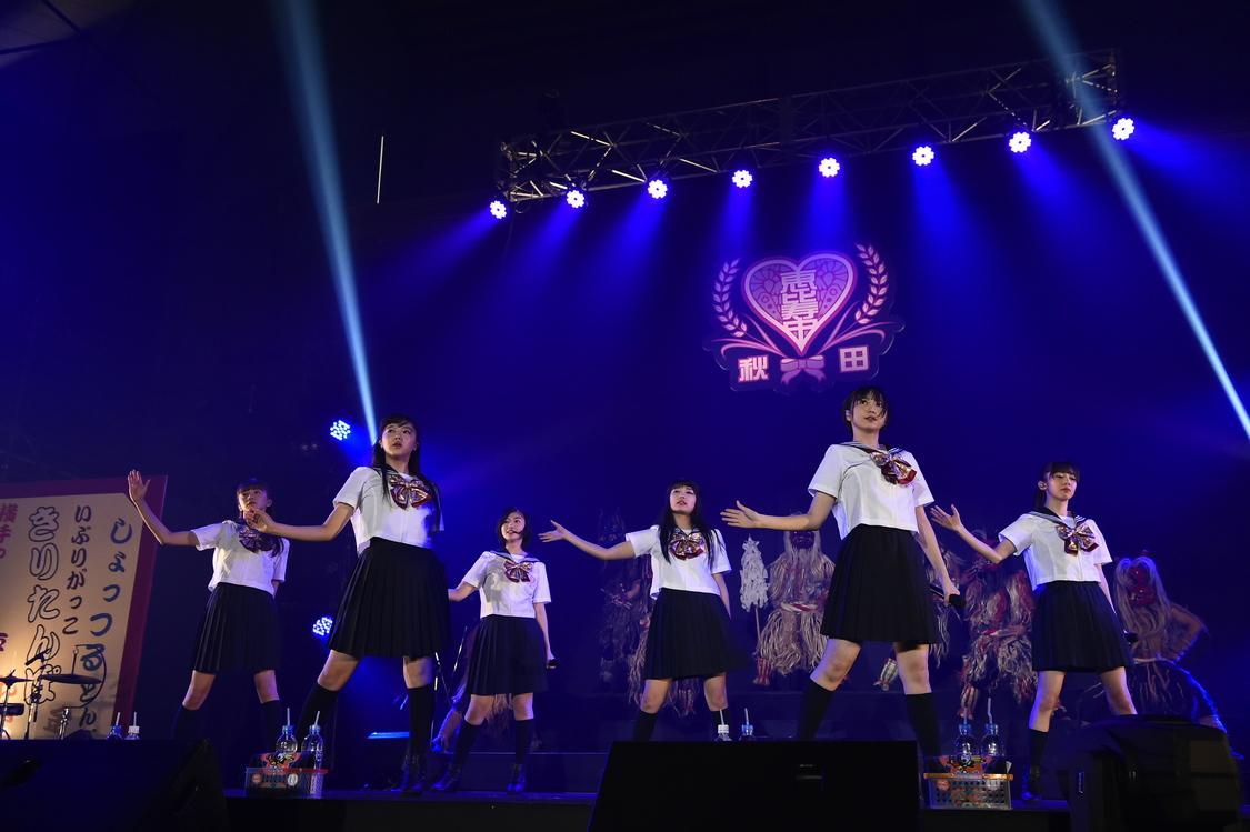 【ライブレポート】エビ中、史上最多135名で作り上げた秋田分校。安本「最初からいっぺ〜のクラスメイトとも盛り上がれてたのしいな〜。」