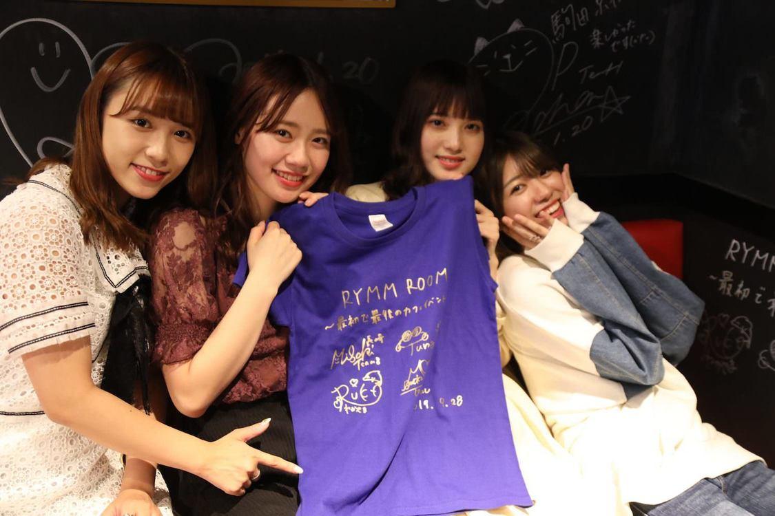 AKB48チーム8[イベントレポート]山本瑠香、服部有菜、大西桃香、寺田美咲、最初で最後のカフェイベント開催