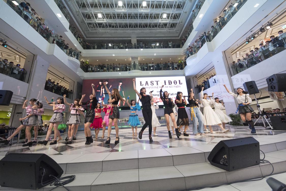 ラストアイドル、4thシングル発売記念イベントで1周年記念コンサート開催を発表!