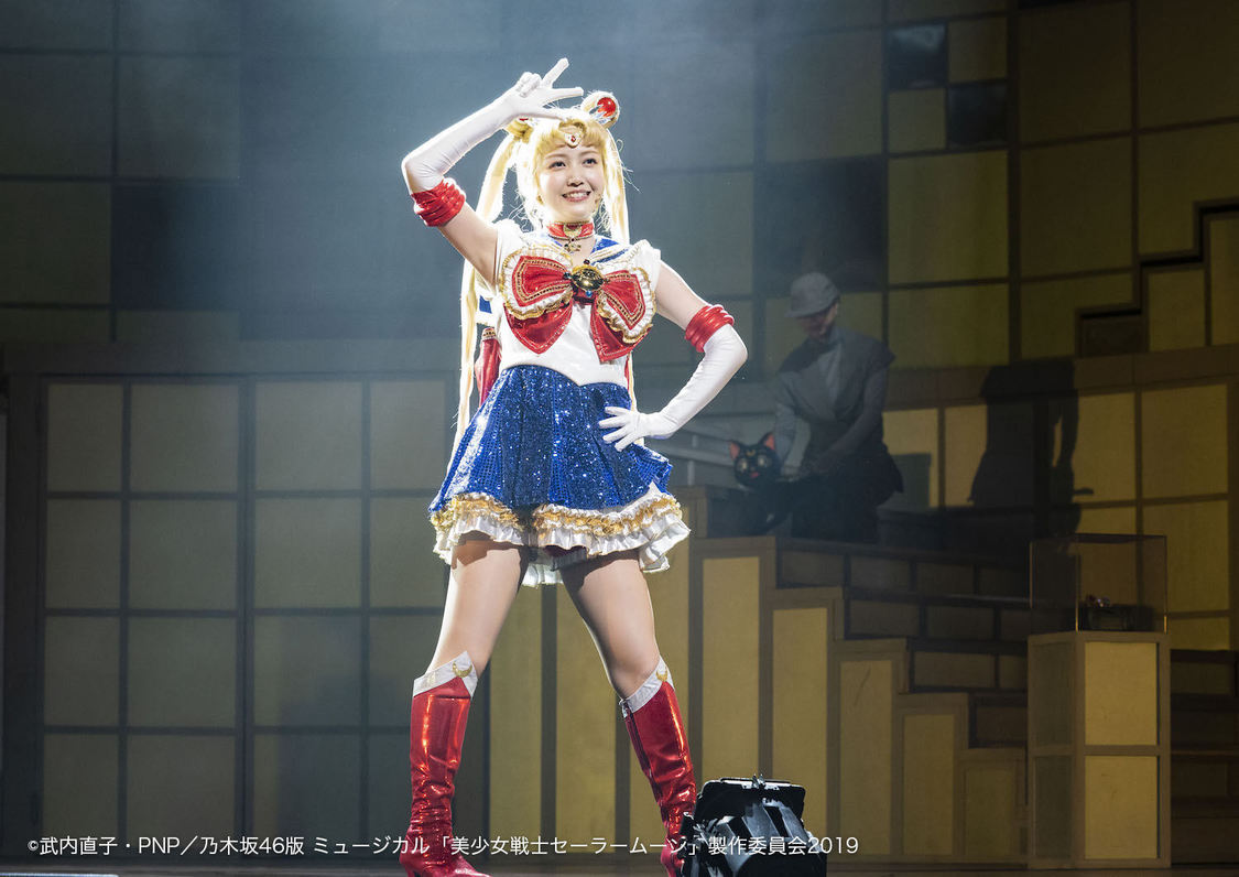 乃木坂46、ミュージカル<美少女戦士セーラームーン>開幕!「大好きなキャストと楽しく素敵な時間を過ごせたら」