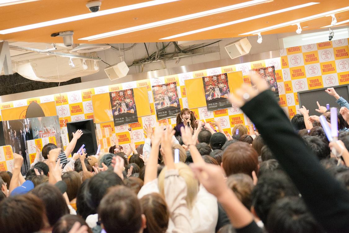 ZOC[イベントレポート]『ZOCジャック!』タワレコ新宿店で完遂。「あとちょっと12万枚お願いします!」