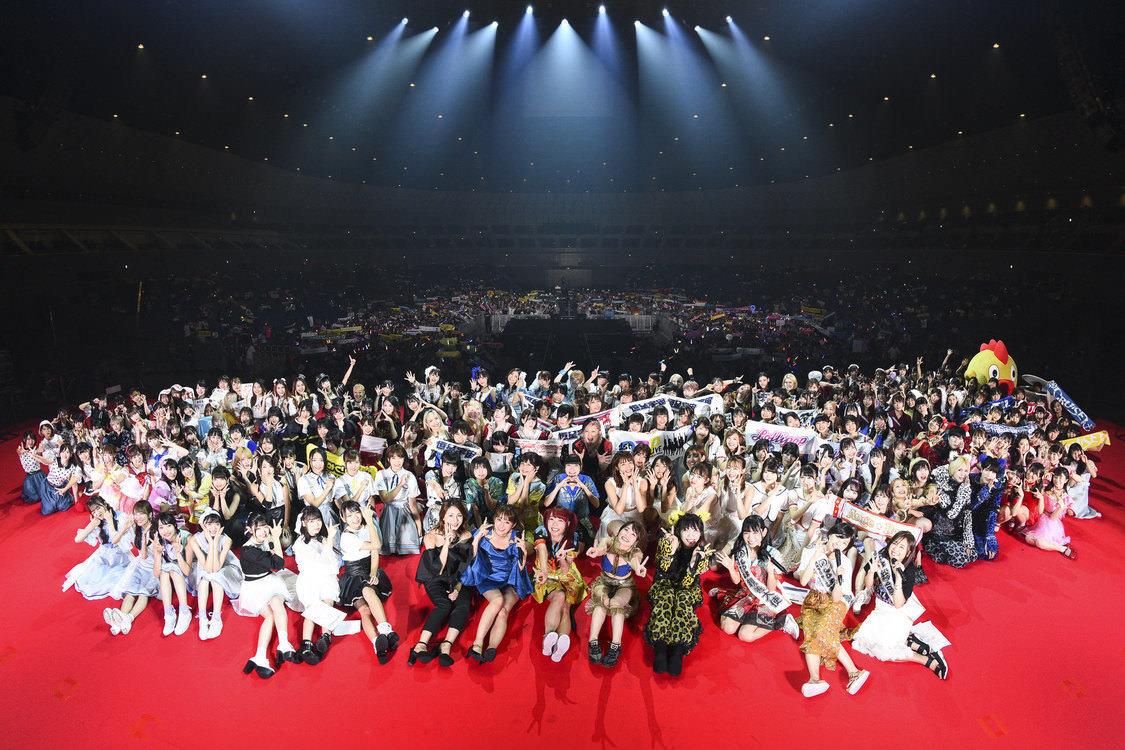 <@ JAM EXPO 2019>ストロベリーステージ[ライブレポート]HKT48、アンジュルム、BEYOOOOONDS、ニジマス、二丁魁らが彩った横アリの夏