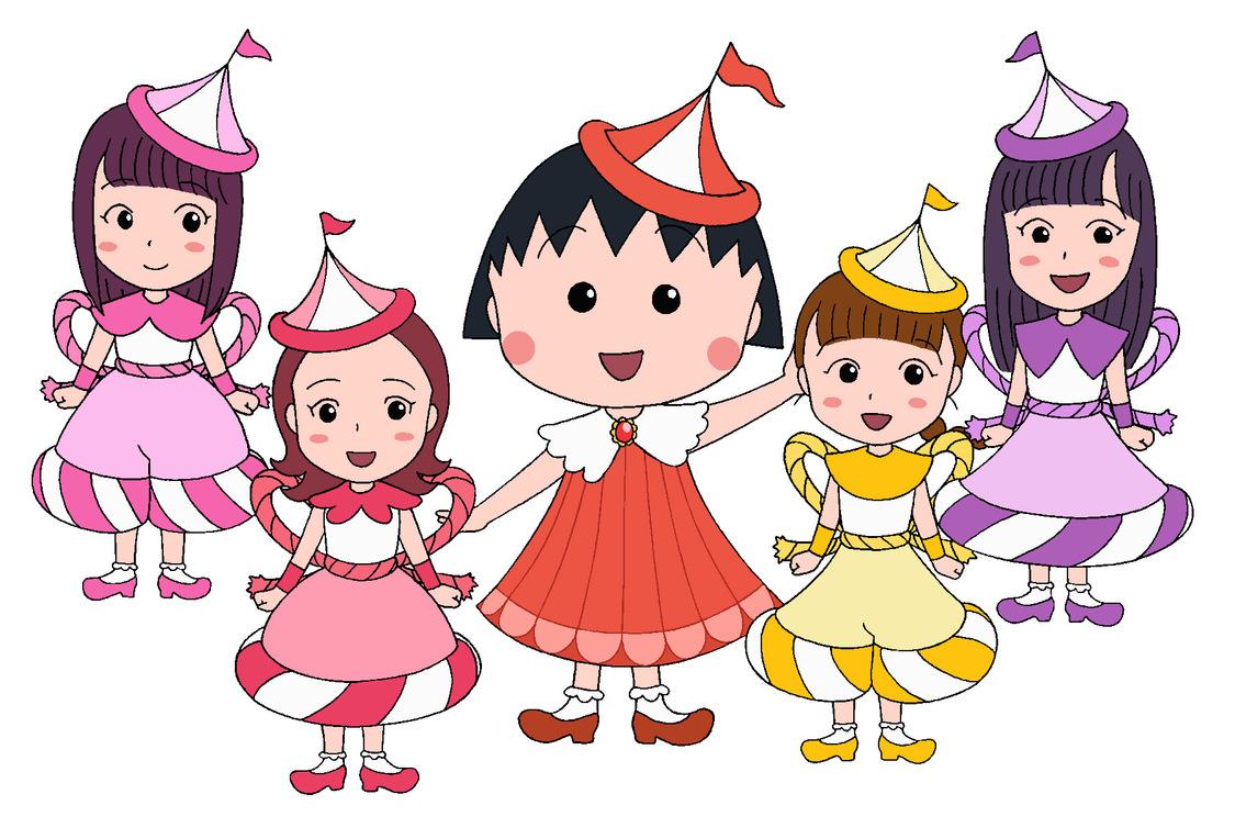 ももクロ、ちびまる子ちゃんオリジナルコラボグッズ発売決定!