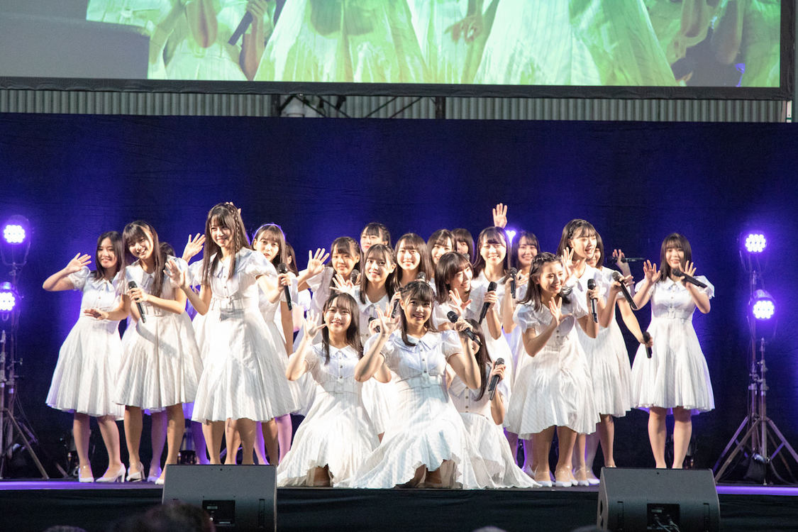 STU48[イベントレポート]<三都市握手会>千秋楽でキャプテン岡田奈々プロデュース公演開催発表!「笑顔の連鎖が起こるような公演にしたい」