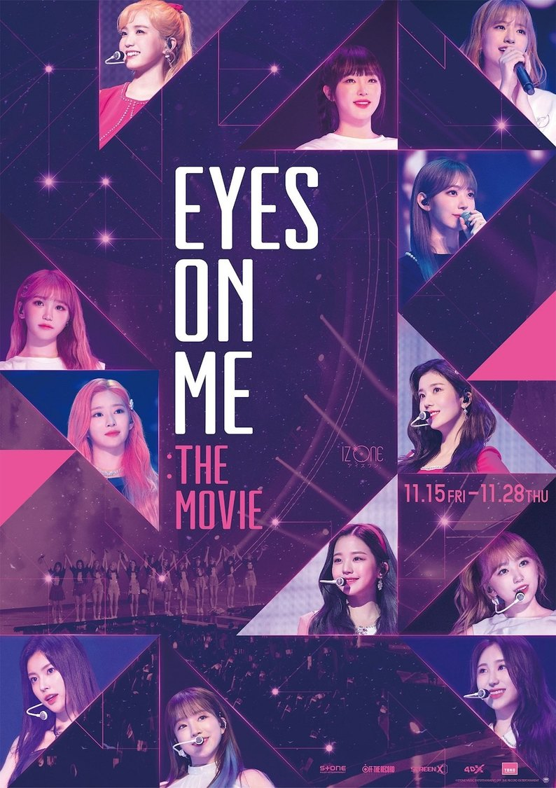 IZ*ONE、6月の韓国公演に密着したグループ初のコンサートフィルム公開決定+特報映像も解禁!