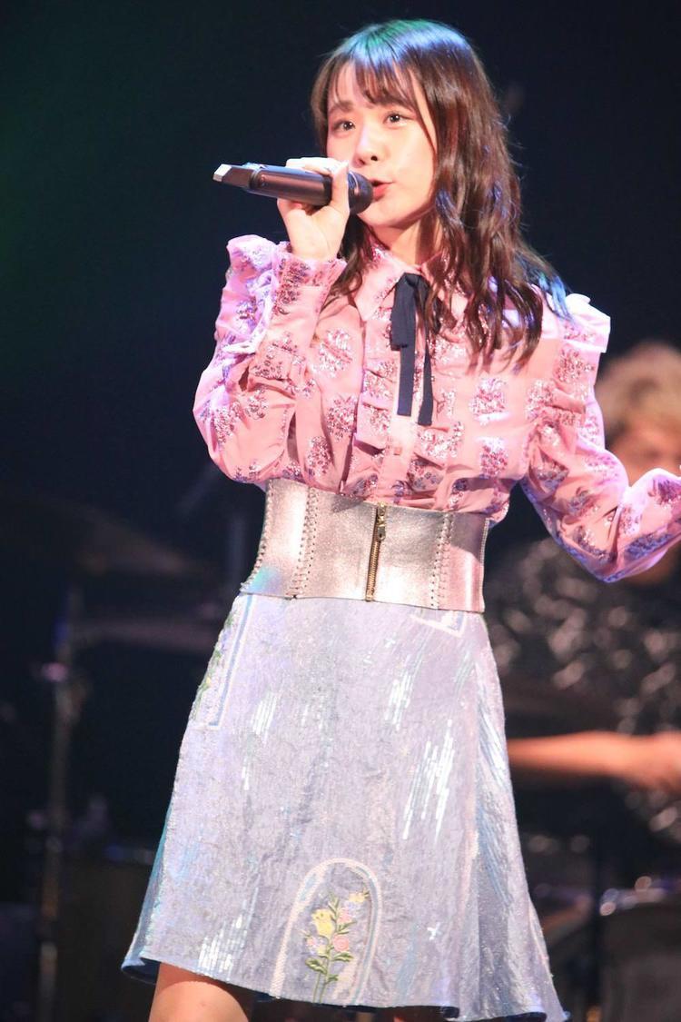 AKB48チーム8 立仙愛理、「トップバッター、楽しんで歌うことを心がけました!」AKB48グループ歌唱力No.1決定戦