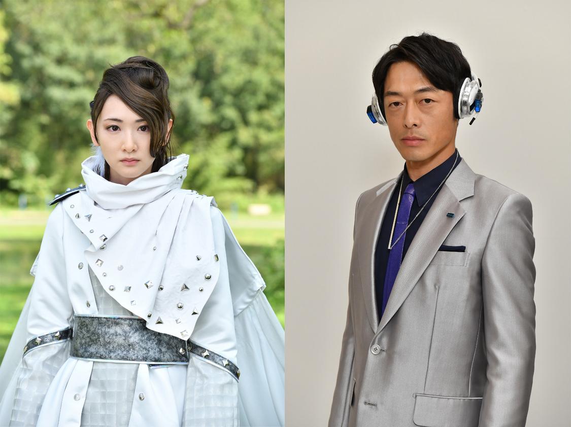 写真左:生駒里奈(フィーニス役)/右:和田聰宏(ウィル役)