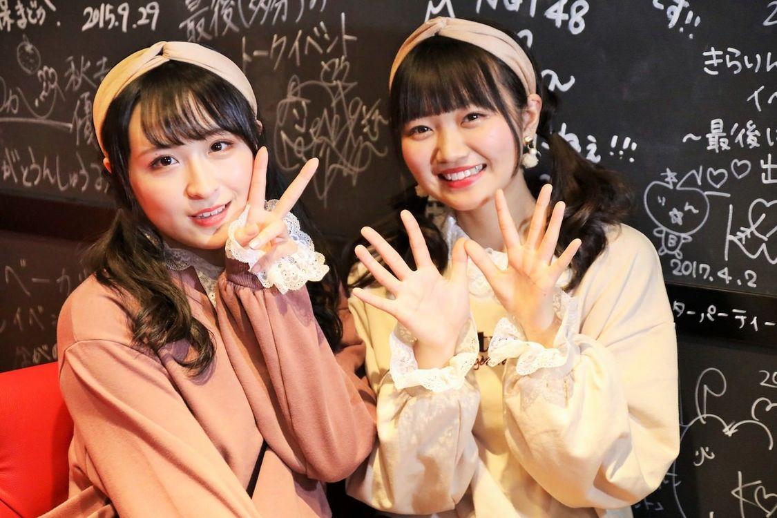 AKB48チーム4 稲垣香織&川本紗矢、初のカフェイベ開催「ハプニングなどもありましたが、私たちはすごく楽しかったです」