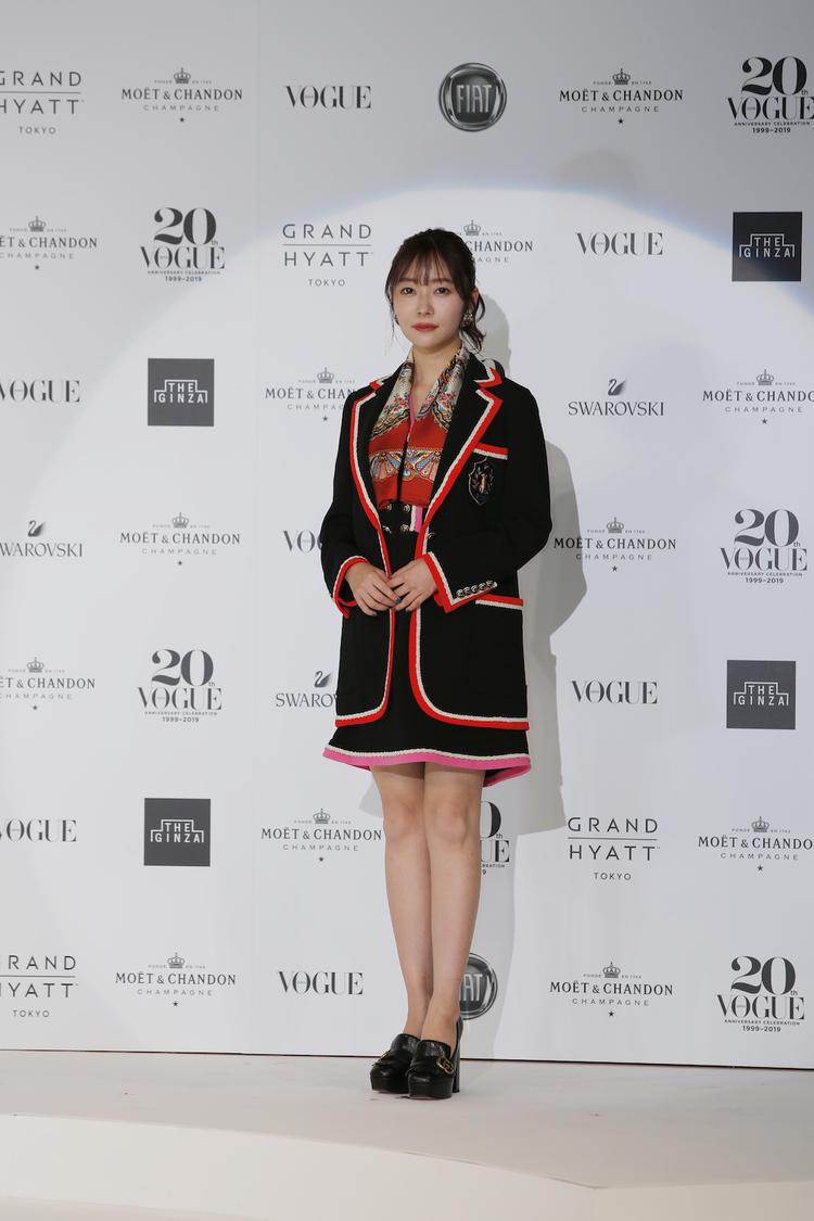 指原莉乃、「VOGUE JAPAN WOMEN OF THE YEAR 2019」受賞!「秋元康先生に感謝の気持ちとしてお寿司をおごって恩返しをしたい」