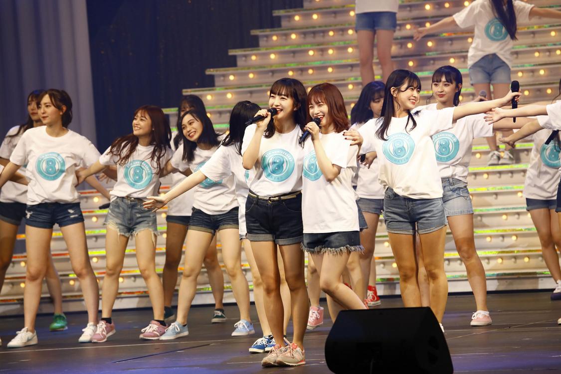 "HKT48、8周年前夜祭で""令和に昭和な歌合戦""大盛況!昭和の名曲が続々登場"