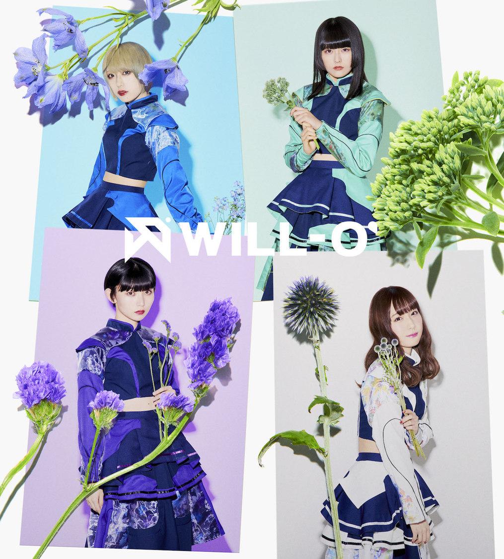 WILL-O'、東名阪ワンマンツアー追加公演のニコニコ生放送決定!