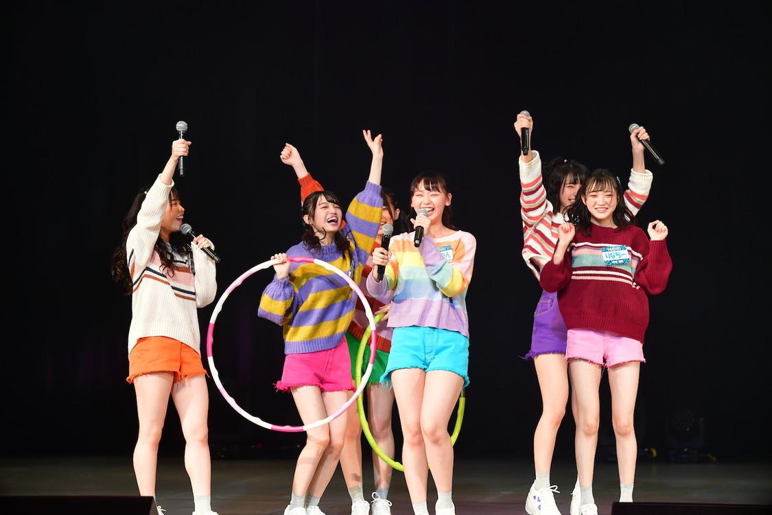 NMB48[イベントレポート]22nd SG発売特別イベントで、だんさぶる!と難波鉄砲隊其之八がガチバトル!?