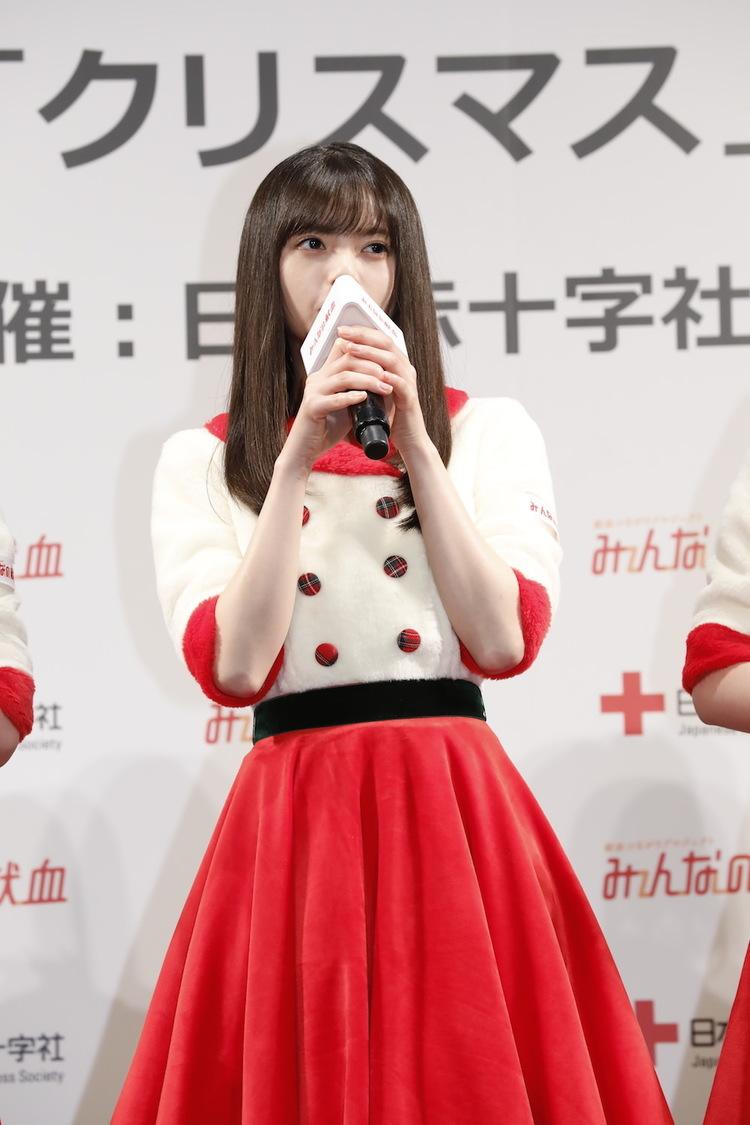 乃木坂46 齋藤飛鳥[イベントレポート]「献血は自分たちが身近にできる人助け」<「みんなの献血」クリスマスPRイベント>