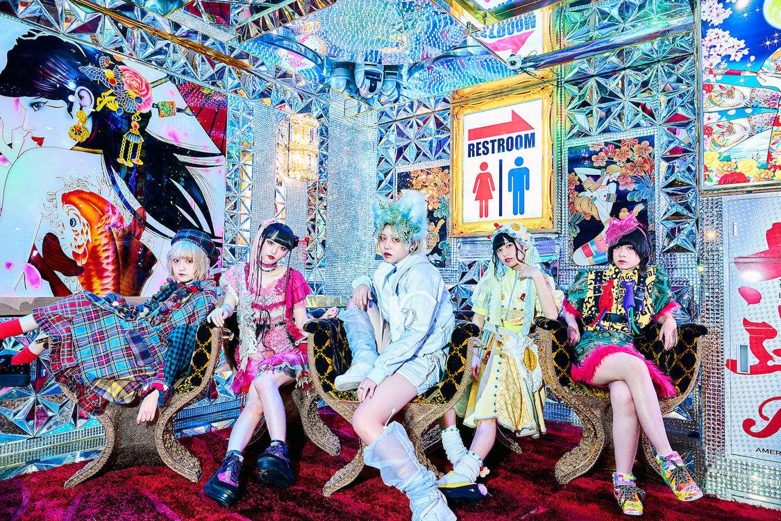 meme tokyo.、「メランコリックサーカス」リリース+ワンマンライブ開催決定!