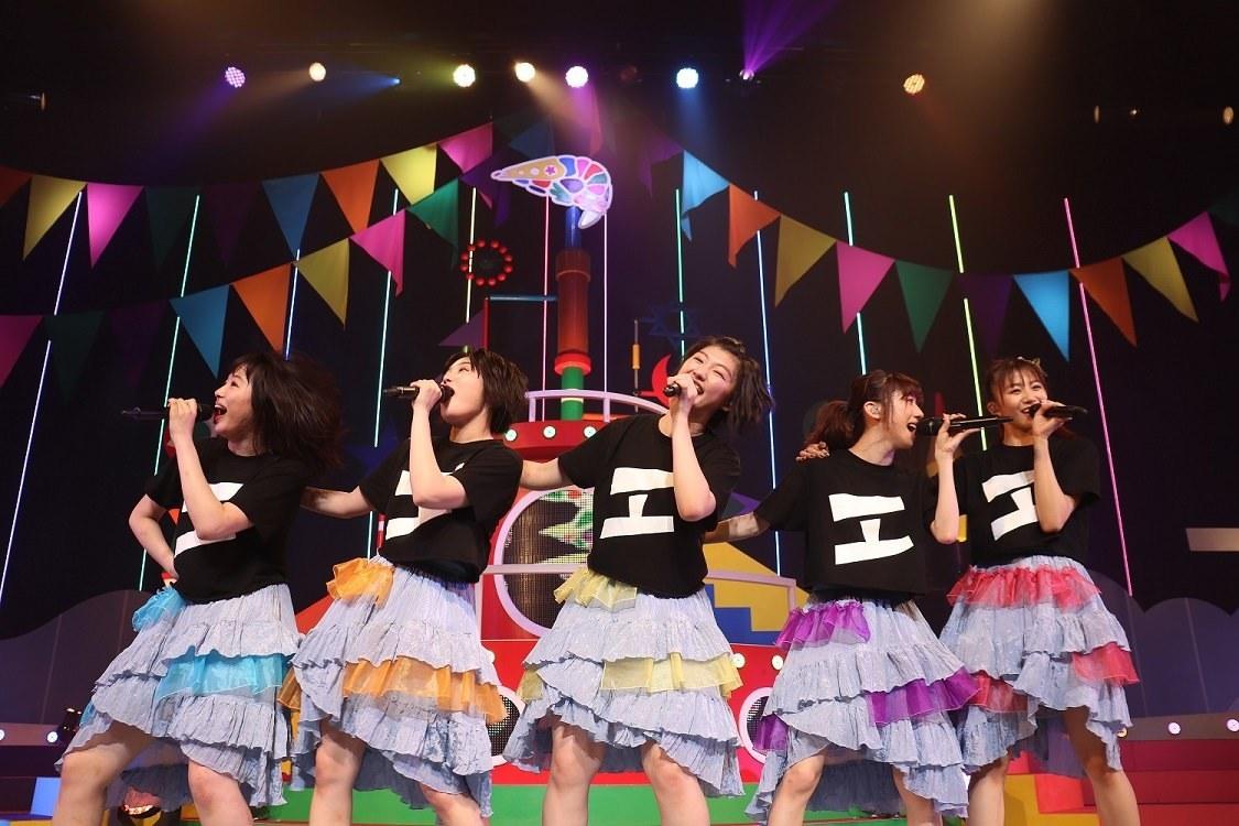 エビ中[ライブレポート]全国ホールワンマンツアー終幕「6人のエビ中でまた札幌に戻ってきます」