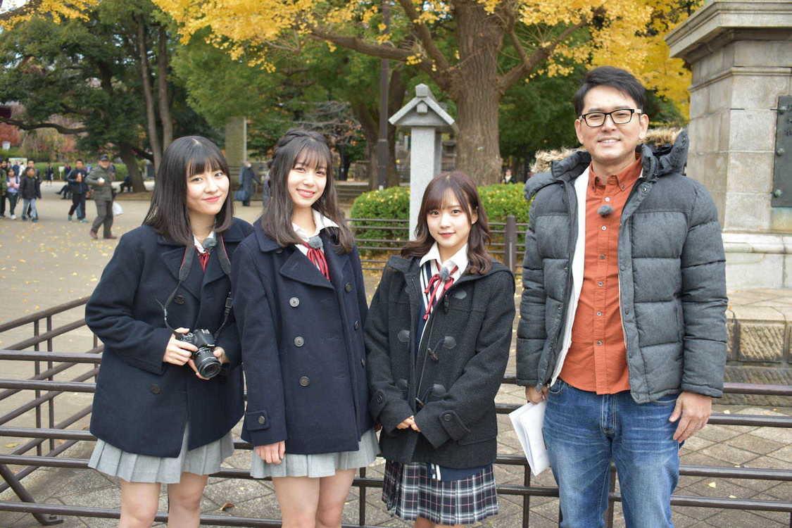 『ハロプロ!TOKYO散歩』に稲場愛香、井上玲音、小片リサ登場! 上野で叩き売りと路上パフォーマンスに挑戦