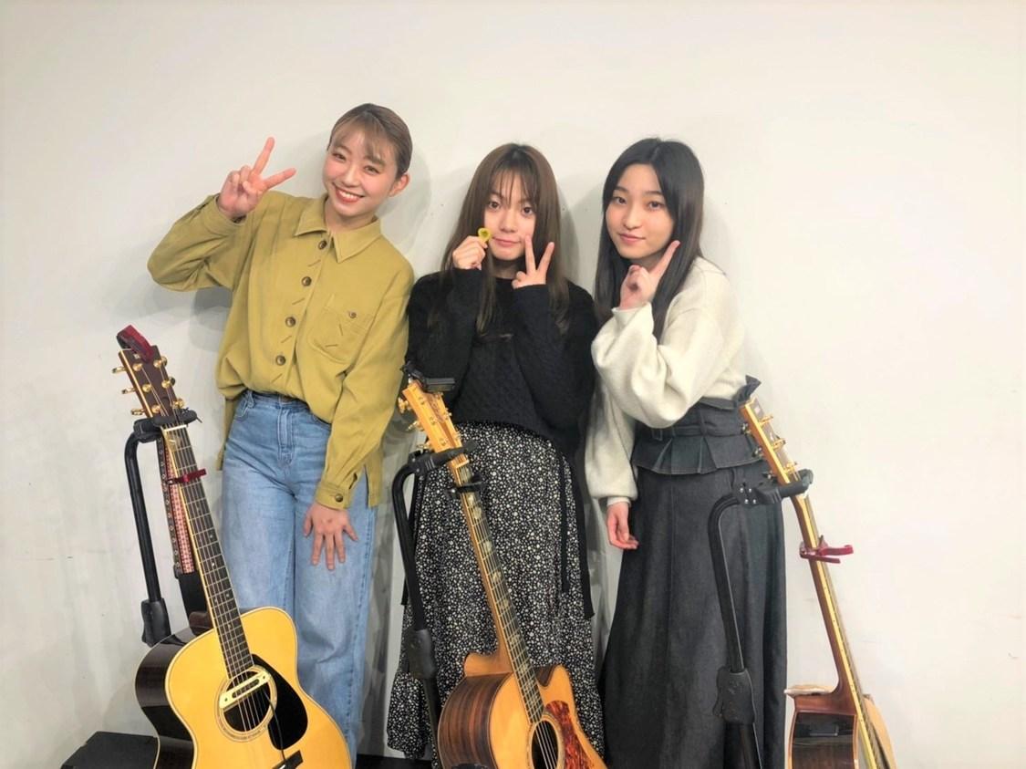 大矢梨華子、村田寛奈、佐野舞香、オリジナルソング処女作をフルコーラスで初生披露!