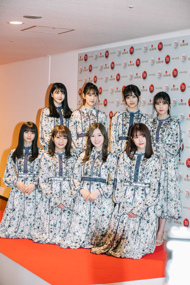 乃木坂46、『第70回NHK紅白歌合戦』フォトセッション