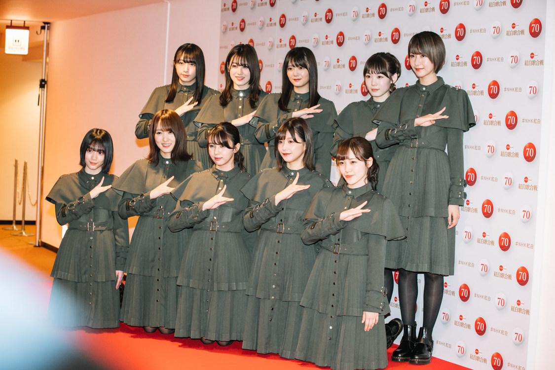 欅坂46、『第70回NHK紅白歌合戦』フォトセッション