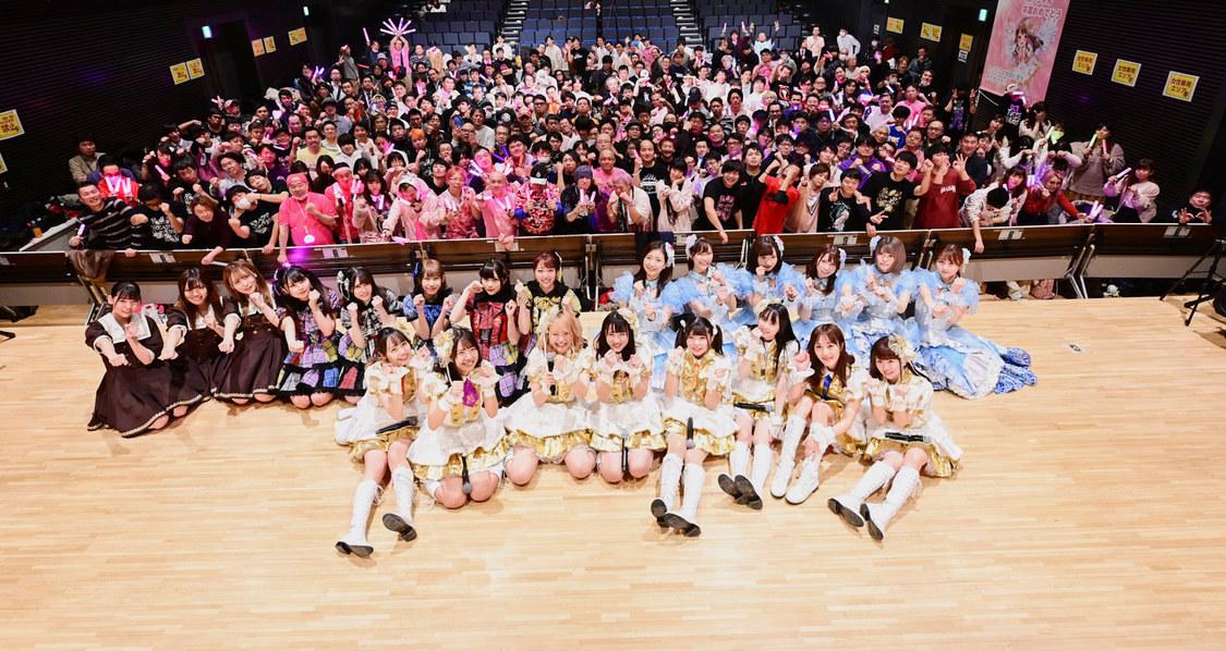 [I-GET祭 ライブレポート]レディキス千葉咲乃が卒業!I-GET所属4グループに「みんな頼みます」