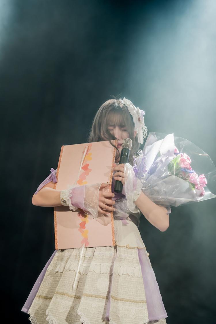 キラフォレ[イベントレポート]茉井良菜、生誕祭で涙「今のメンバーが好きすぎて、嬉しい」