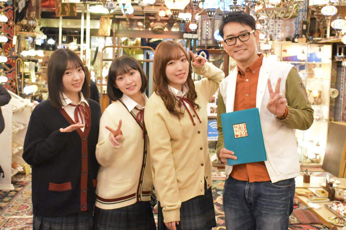 『ハロプロ!TOKYO散歩』、谷中銀座商店街で食べ歩き!出演は譜久村聖(モーニング娘。'20)、宮本佳林(Juice=Juice)、山岸理子(つばきファクトリー)