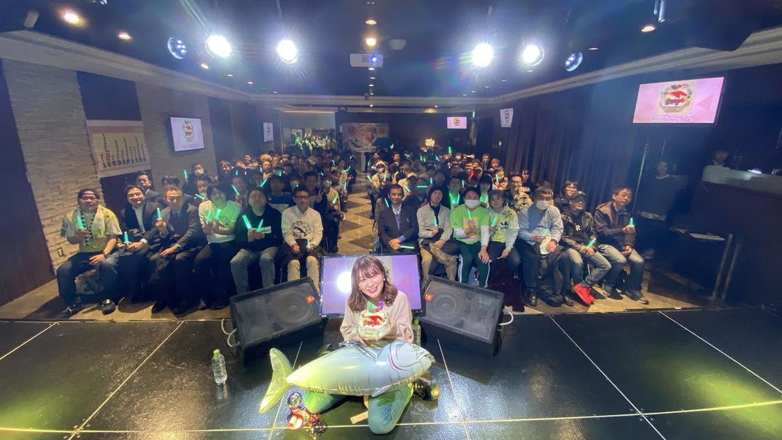 スパガ 坂林佳奈[イベントレポート]笑顔が溢れた生誕祭「私のスパガ愛の熱量をみなさんに届けられたら」