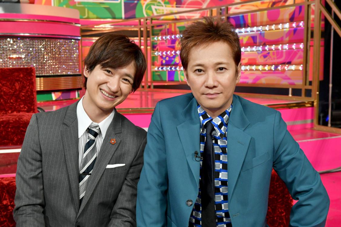 写真右:中居正広 左:宮田俊哉(舞祭組)/(C)TBS