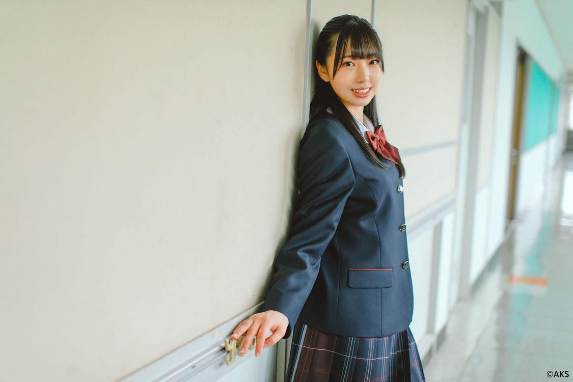 HKT48 坂本りの、オサレカンパニーが手がける学校制服ブランド『O.C.S.D.』新制服モデルに決定!