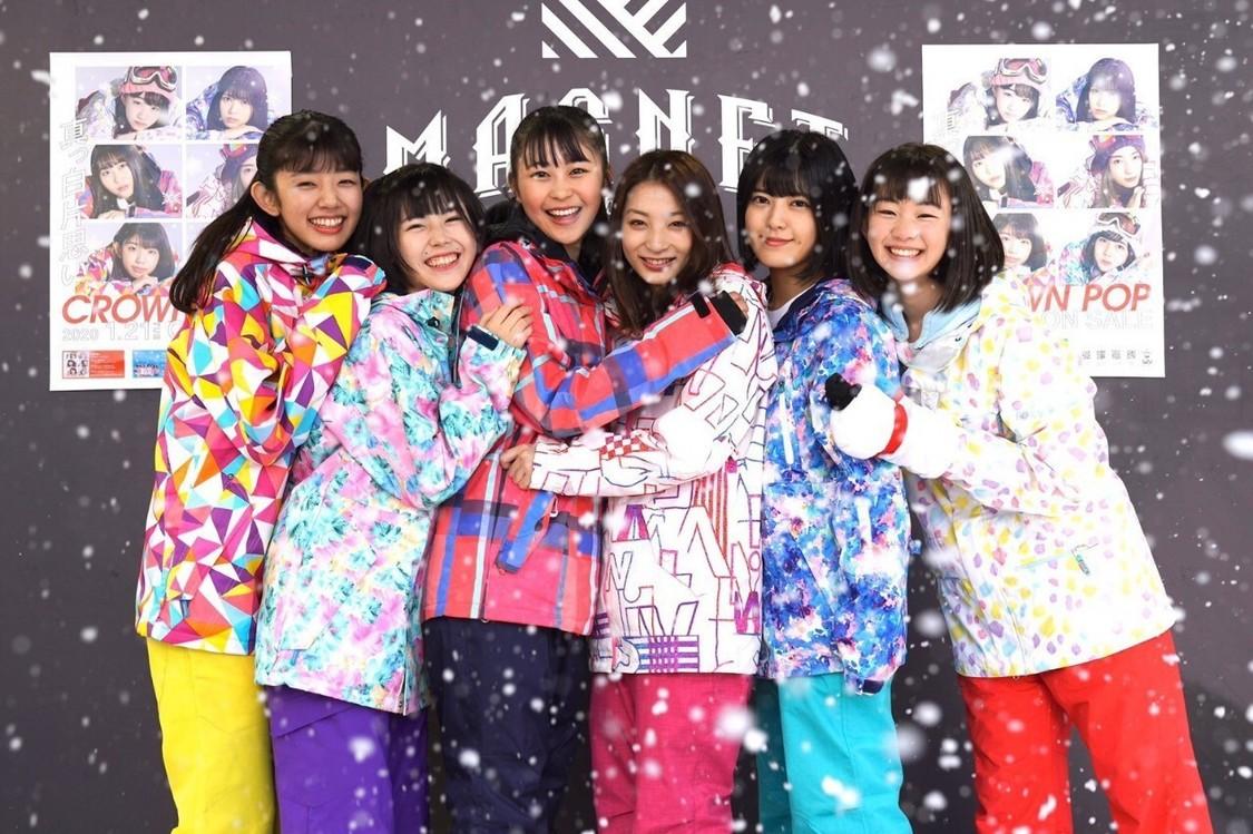 CROWN POP[イベントレポート]晴天の渋谷に雪が舞う!「真っ白片思い」リリイベ開催