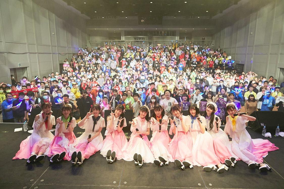 "SUPER☆GiRLS、10周年目初ワンマンライブ開催!新曲初披露も「""スタート""という意味を重要視しています」"