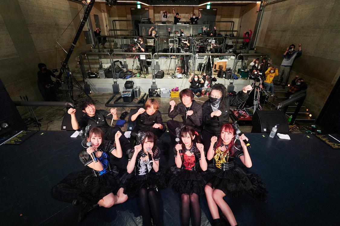 HOT DOG CAT[ライブレポート]渋谷WWWで無観客生配信ライブを開催!メンバー自身も楽器をプレイ