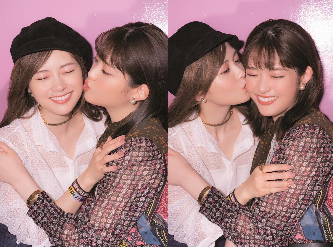 乃木坂46 白石麻衣&松村沙友理、『CanCam』登場。仲良しのあまりキスし合うシーンも!