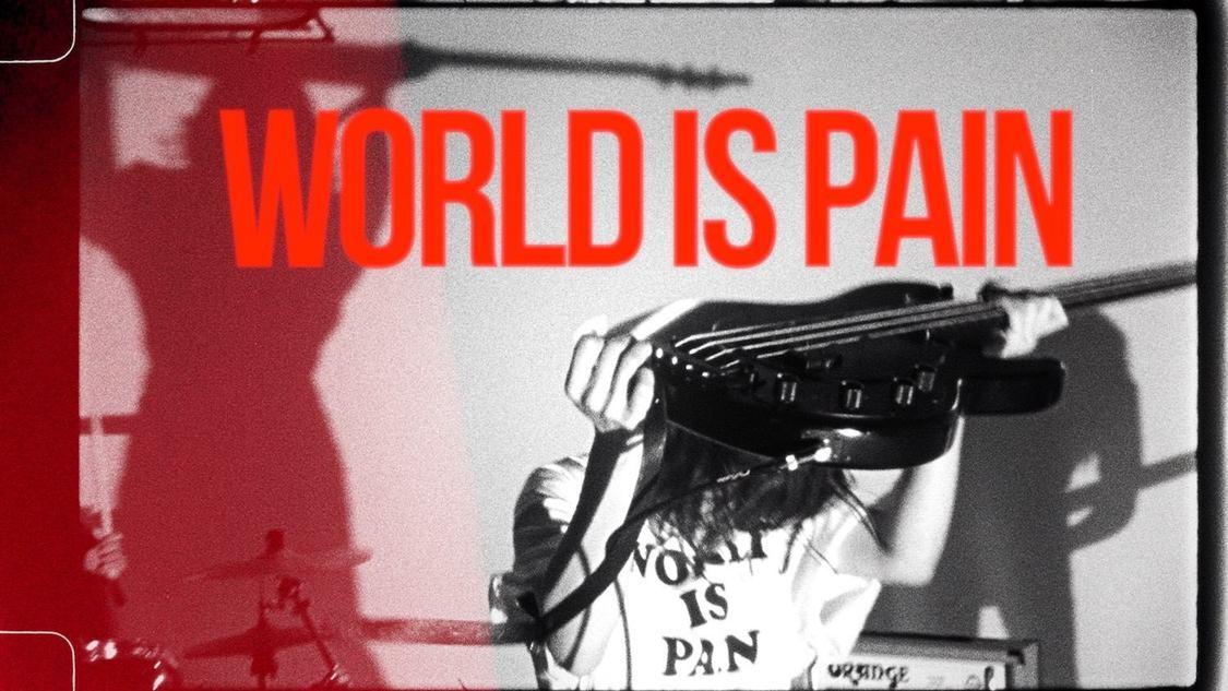 PEDRO、全編16mmフィルムカメラでバンド演奏を収めた「WORLD IS PAIN」MV解禁!