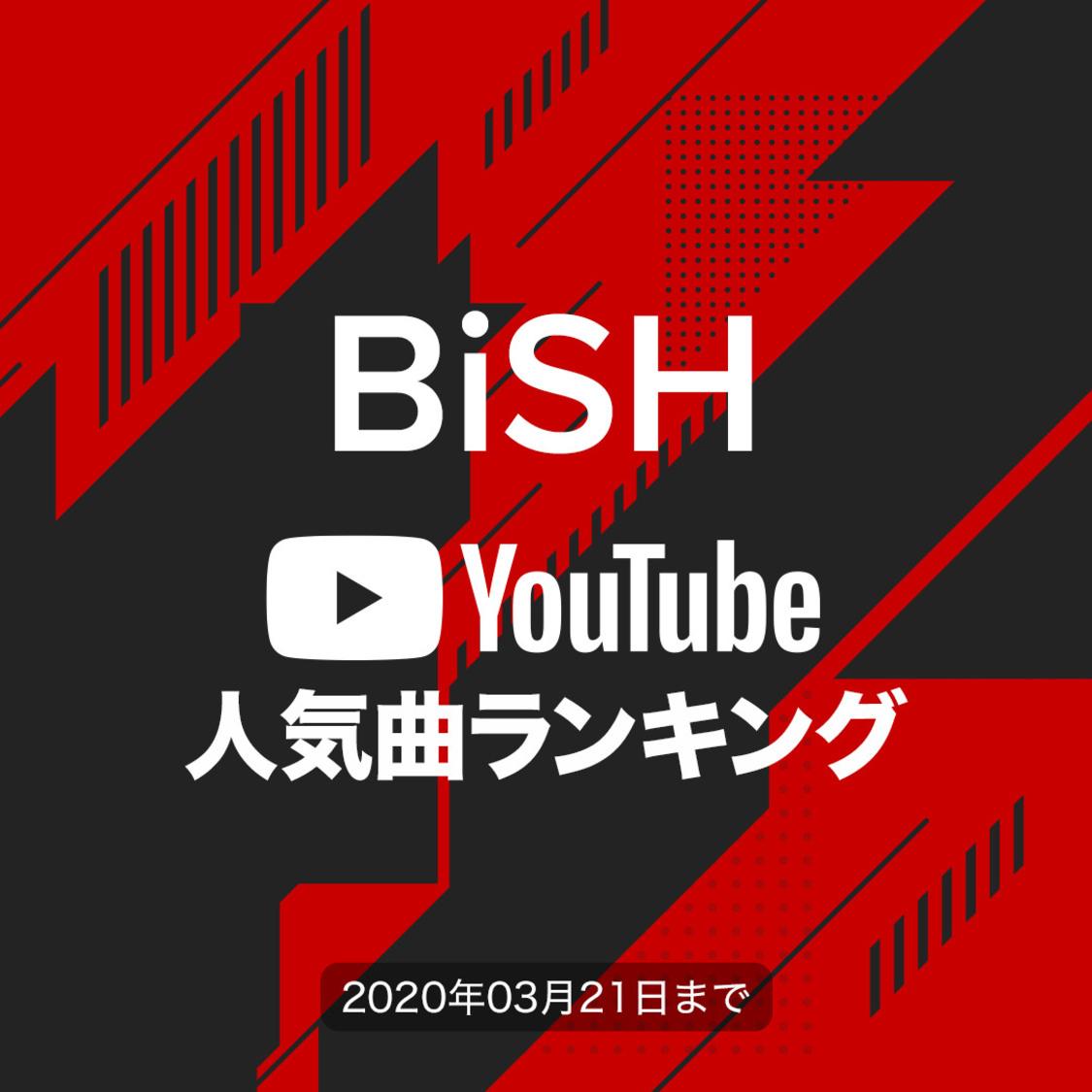 BiSH[YouTube人気曲ランキング]再生回数が1番多い曲は?