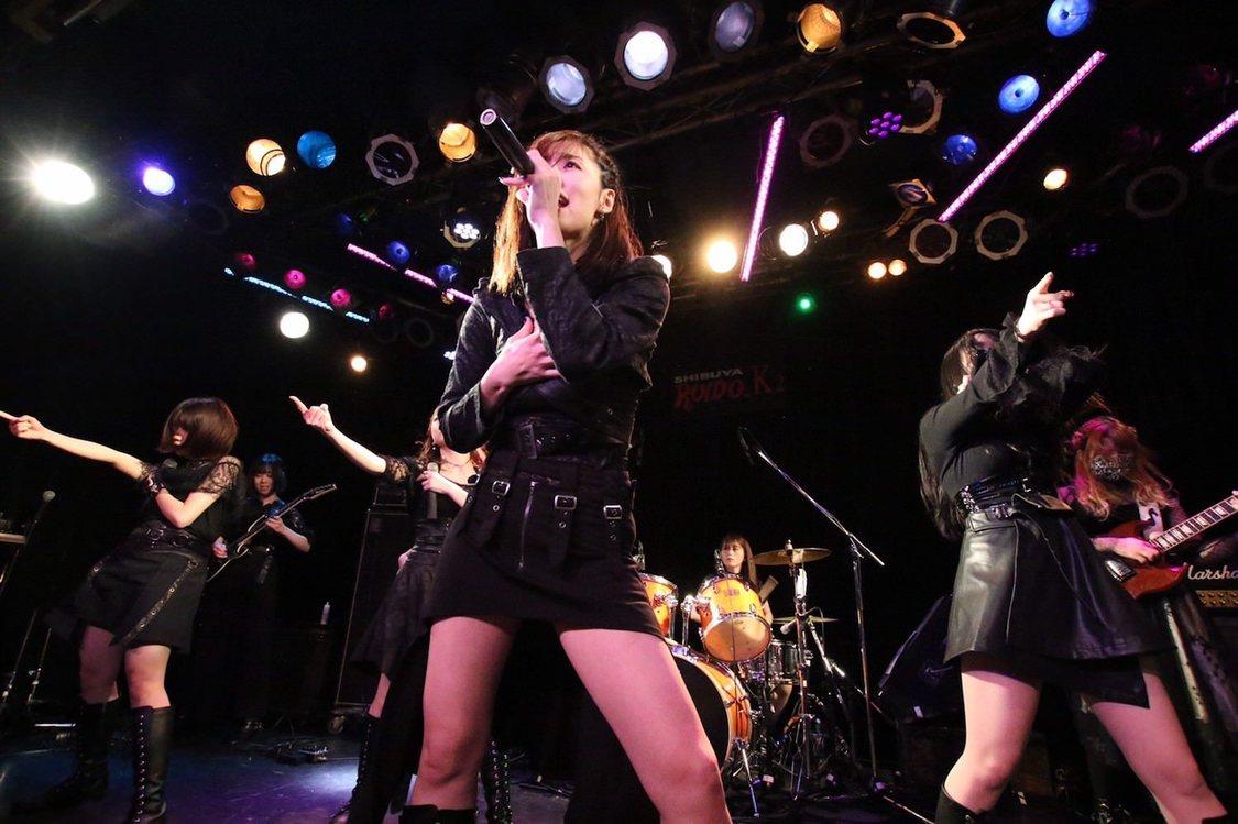 CANDY GO! GO![ライブレポート]Elue marineとのバンドスタイルで解き放った光輝く感情