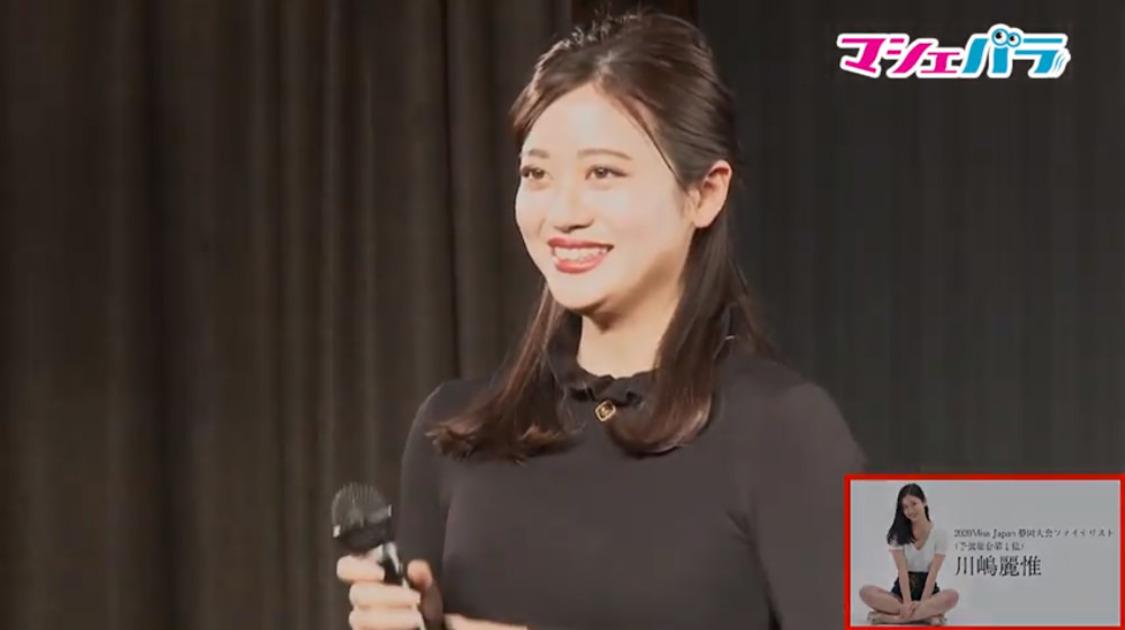 川嶋麗惟(予選1位通過)<2020Miss Japan>静岡県大会