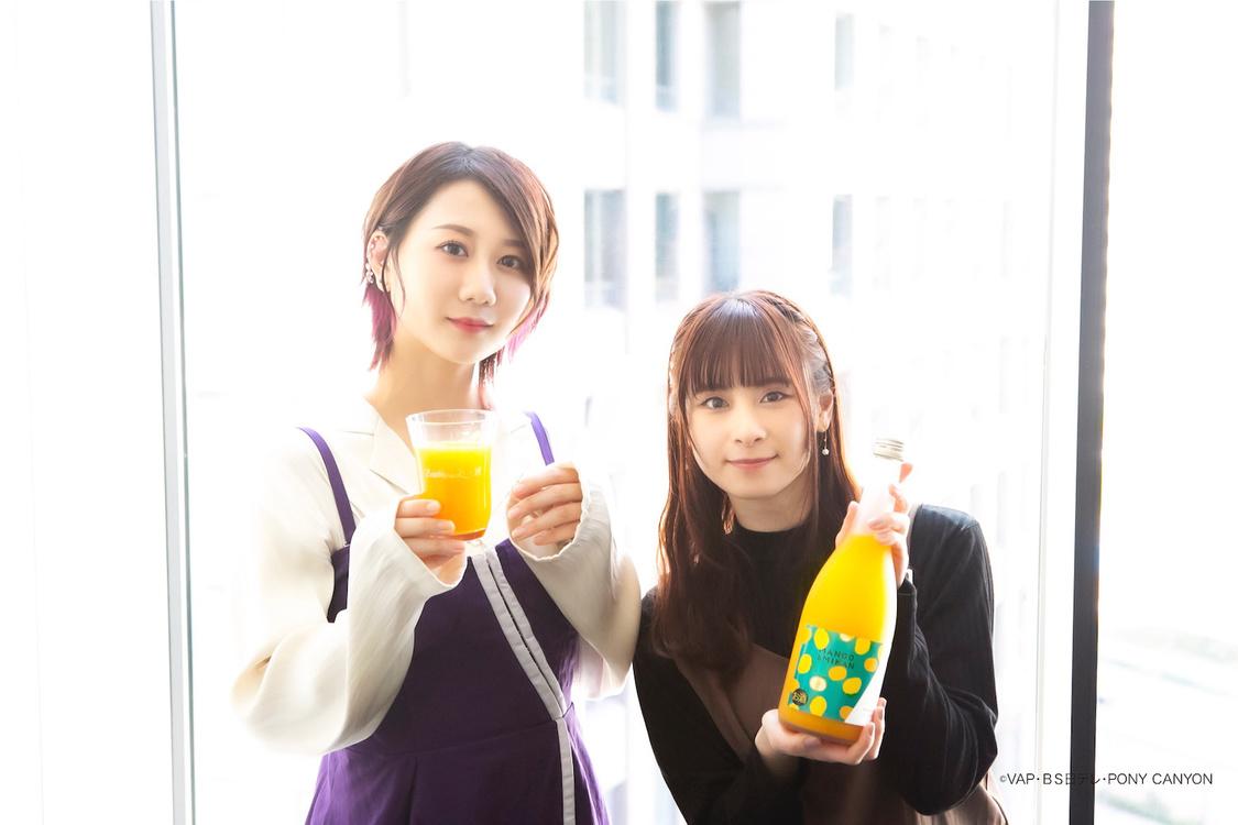 古畑奈和(SKE48)&前田佳織里、初プロデュースリキュール発売!特別試飲キャンペーンも「デザート感覚で楽しんで」
