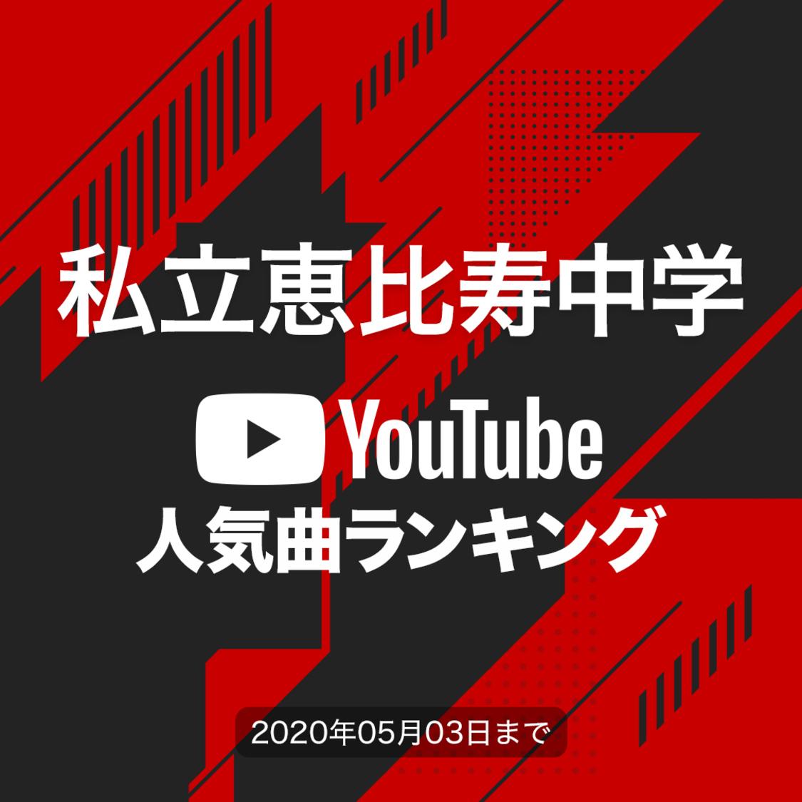 私立恵比寿中学[YouTube人気曲ランキング]再生回数が1番多い曲は?