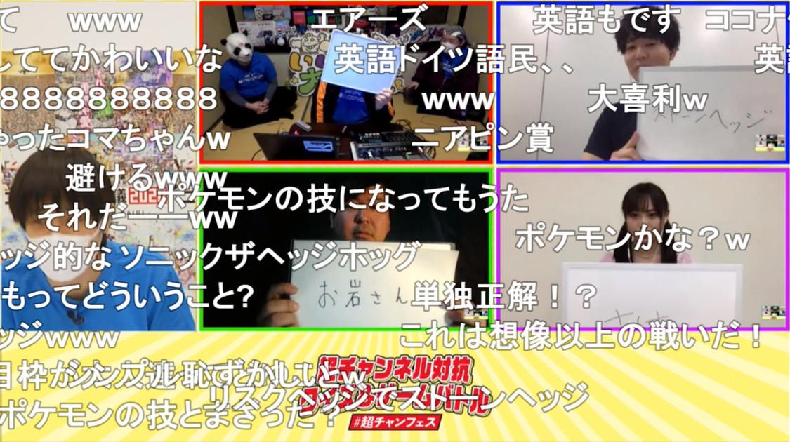 NMB48 梅山恋和&安部若菜、<ニコニコネット超会議2020>超チャンネル対抗クイズ&ゲームバトルで奮闘!
