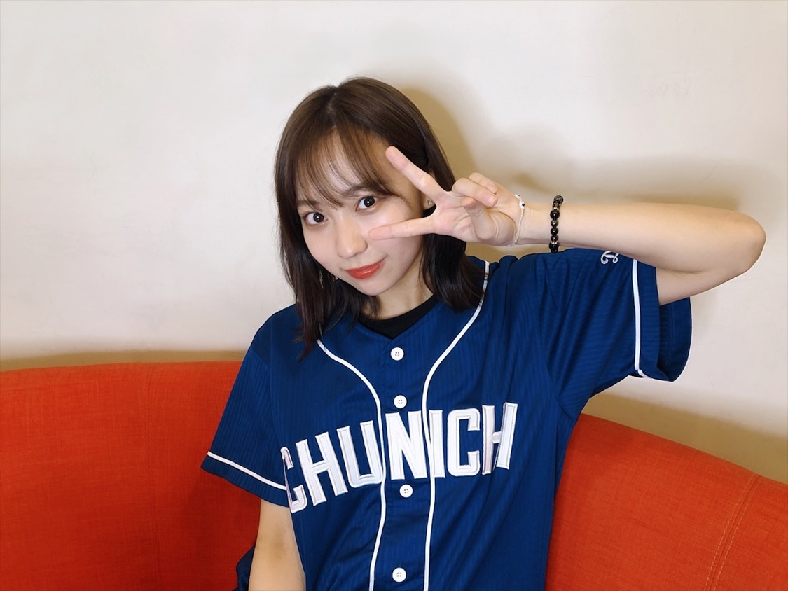 """SKE48 日高優月、Youtuber""""ゆづき""""として公式YouTubeチャンネル『ドラ女ゆづきのスクイズTV』開設!「ドラゴンズの魅力をいっぱい伝えられるよう頑張ります」©2020 Zest,Inc."""